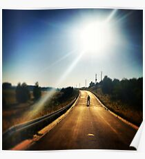Walking Dead, Highway, HD Photograph Poster