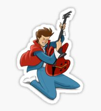 Marty sticker Sticker