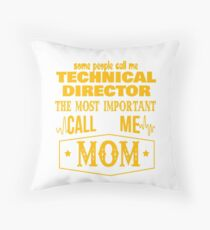 TECHNICAL DIRECTOR BEST COLLECTION 2017 Throw Pillow