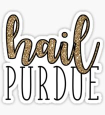 Hail Purdue Sticker