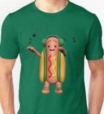 Dancing Hot Dog T-Shirt