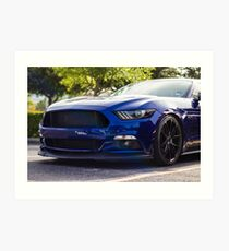 Ford Mustang S550 Art Print