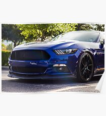 Ford Mustang S550 Poster