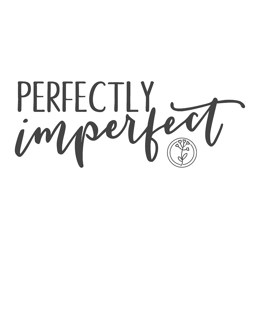 Perfectly Imperfect - Charcoal Gray by KristenHewitt