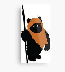 Ewok Bear, Star Wars Metal Print