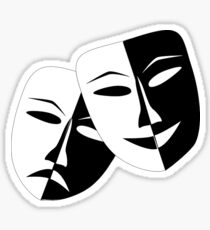 Drama, Masks/Faces Sticker