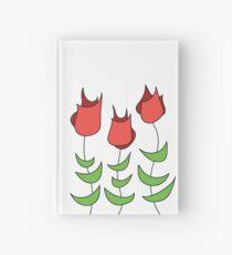 Rote Tulpen Notizbuch