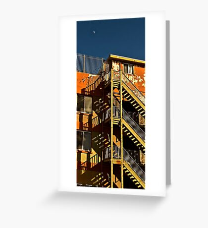 Urban shadows Greeting Card