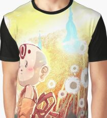 Onibi field with dandelions Graphic T-Shirt