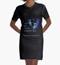 In Ancient Times Cats Were Worshipped as Gods  Graphic T-Shirt Dress