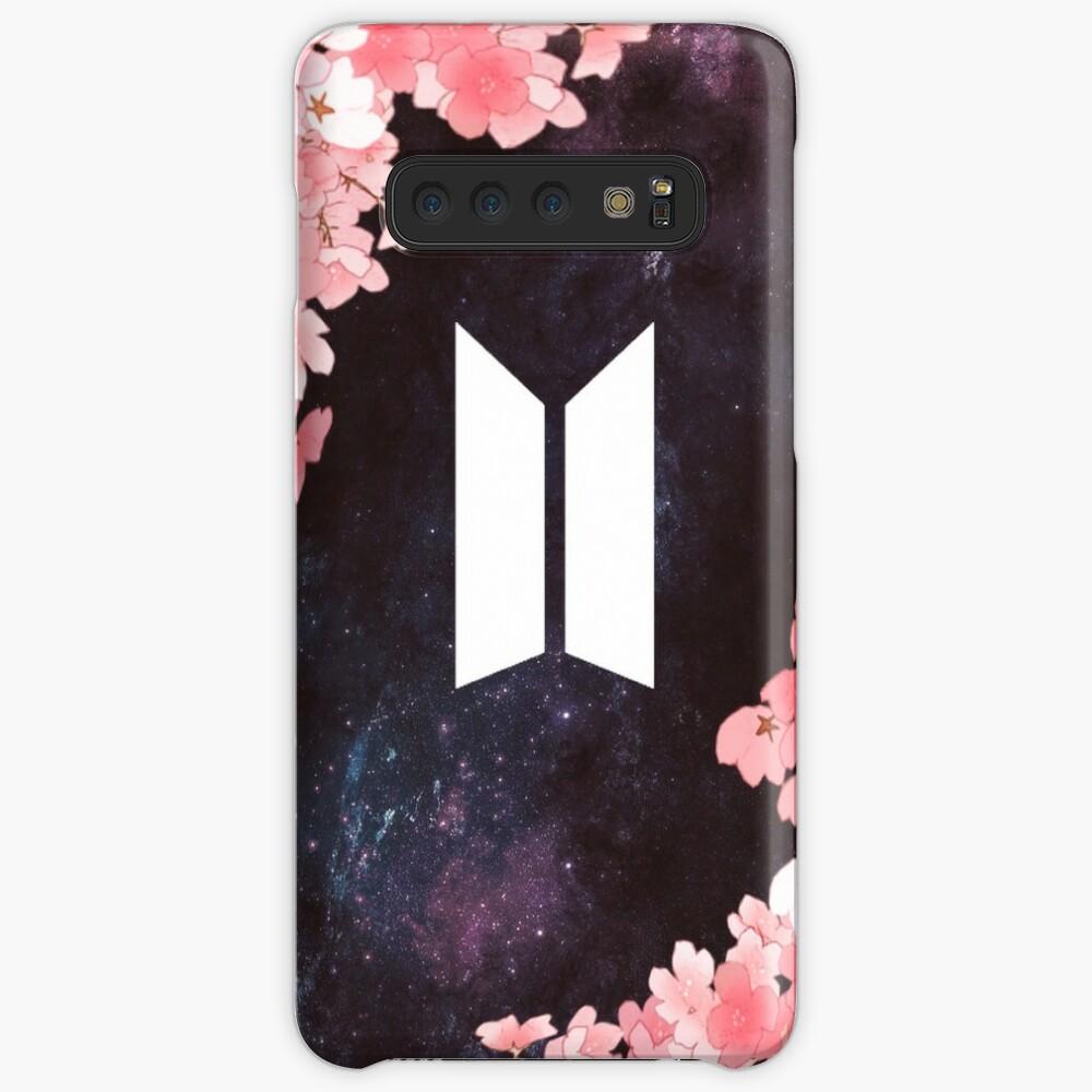 BTS Space [Neues Logo] Hülle & Klebefolie für Samsung Galaxy