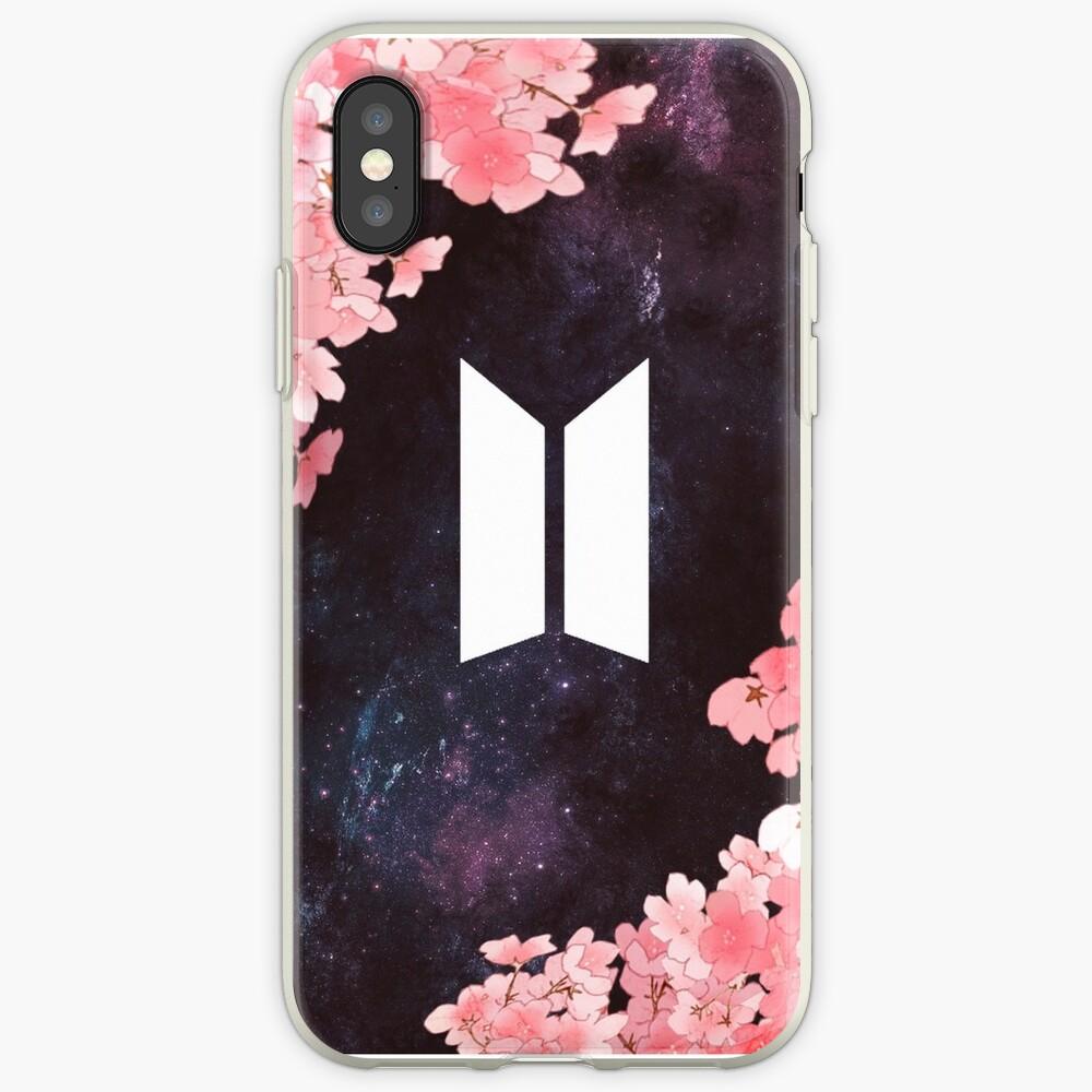 BTS Space [Neues Logo] iPhone-Hüllen & Cover
