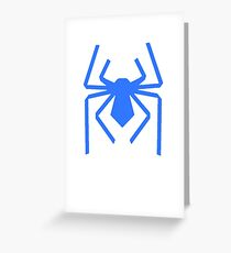 Spider Logo Greeting Card