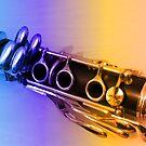 Rainbow Clarinet by BlueMoonRose