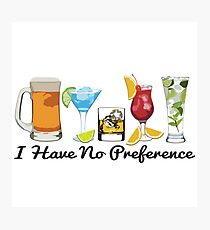 Alcoholic Beverages Photographic Print
