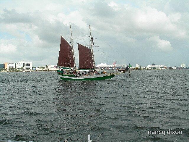sailboat by nancy dixon