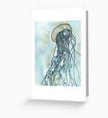 Jellyfish Three Greeting Card