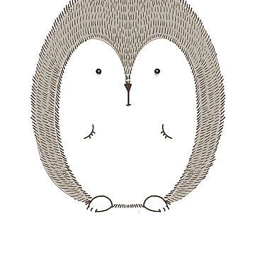 Porcupine Dikobraz by Phoenix23