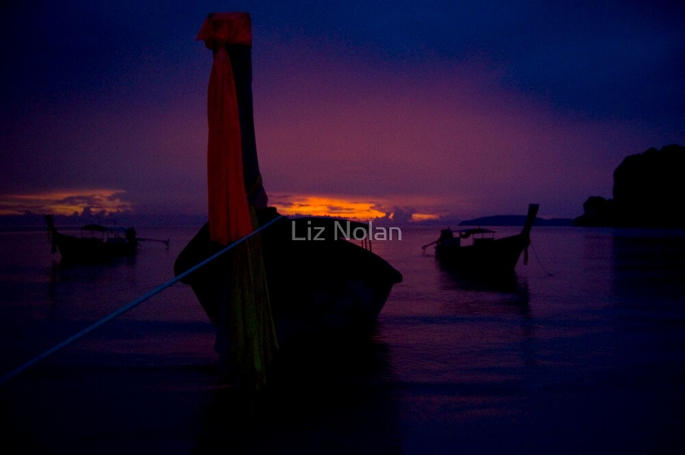 Railay sunset by Liz Nolan