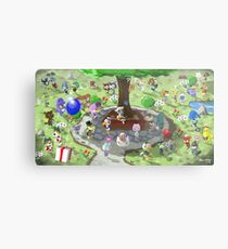 Welcome to Animal Crossing Metal Print