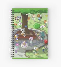 Welcome to Animal Crossing Spiral Notebook