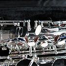 Silver Sax by BlueMoonRose