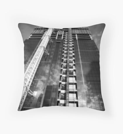 A New Tower Throw Pillow