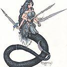 Snake Woman by Stephanie Small