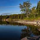 Sunrise on Nutimik Lake by Steve Boyko