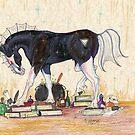 Black Horse Wizard by Stephanie Small