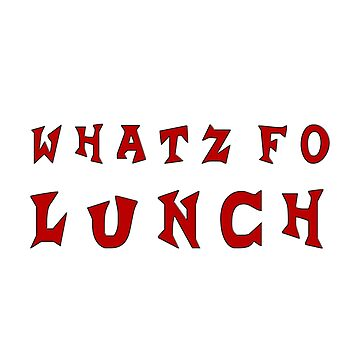 whatz fo lunch by Hortaemcasa