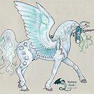 Sacred Geometry Unicorn by Stephanie Small