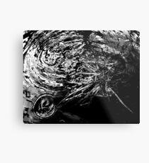 minimal Metal Print