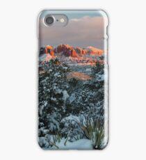 Sedona, Az - Frosty Sunset iPhone Case/Skin