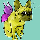 French Bulldog Butterfly by Liddle-Ideas