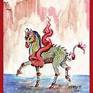 Japanese Unicorn by Stephanie Small