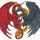 Dragon and Unicorn by Stephanie Small