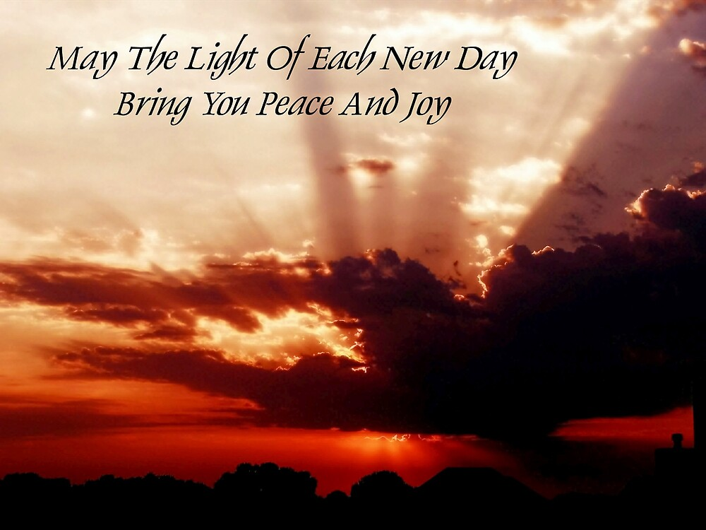 Peace and Joy by Jim  Darnall