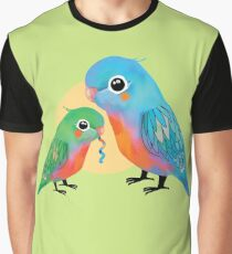 Parakeets Graphic T-Shirt