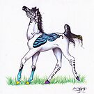 Butterfly Horse by Stephanie Small