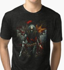 Castlevania Lord Of Shadow Tri-blend T-Shirt