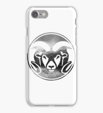 Colorado State Rams Mountains Layout iPhone Case/Skin