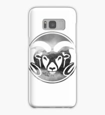 Colorado State Rams Mountains Layout Samsung Galaxy Case/Skin