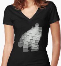 JigSaw Women's Fitted V-Neck T-Shirt