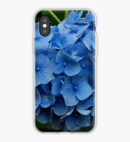 kathy's hydrangea, washington state.  iphone/samsung galaxy cover iPhone Case