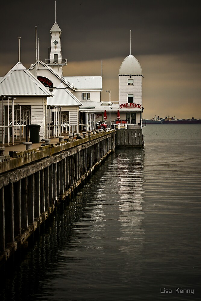 The Pier by Lisa  Kenny