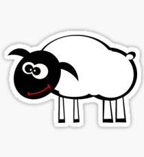 Cartoon Sheep Sticker