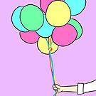 Birthday Balloons by cozyreverie