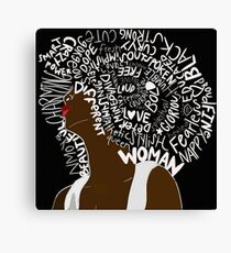 EmpoWerment of the Woman Canvas Print