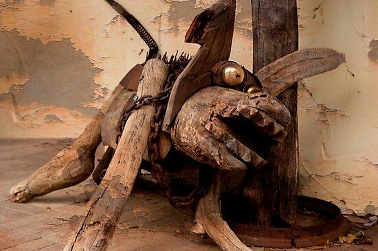 Grunge Dog by warriorprincess
